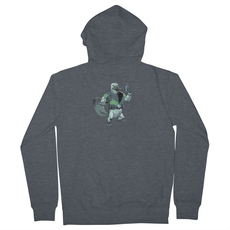 Shirt of the Month June 2017: Platypus Rex Men's Zip-Up Hoody by edisonrex's Artist Shop