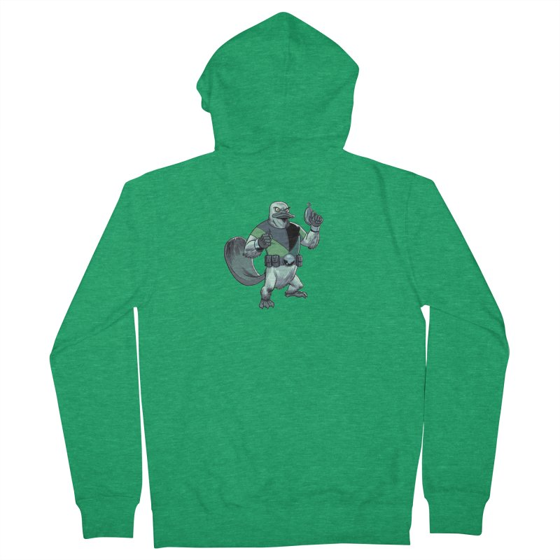 Shirt of the Month June 2017: Platypus Rex Men's Zip-Up Hoody by Edison Rex