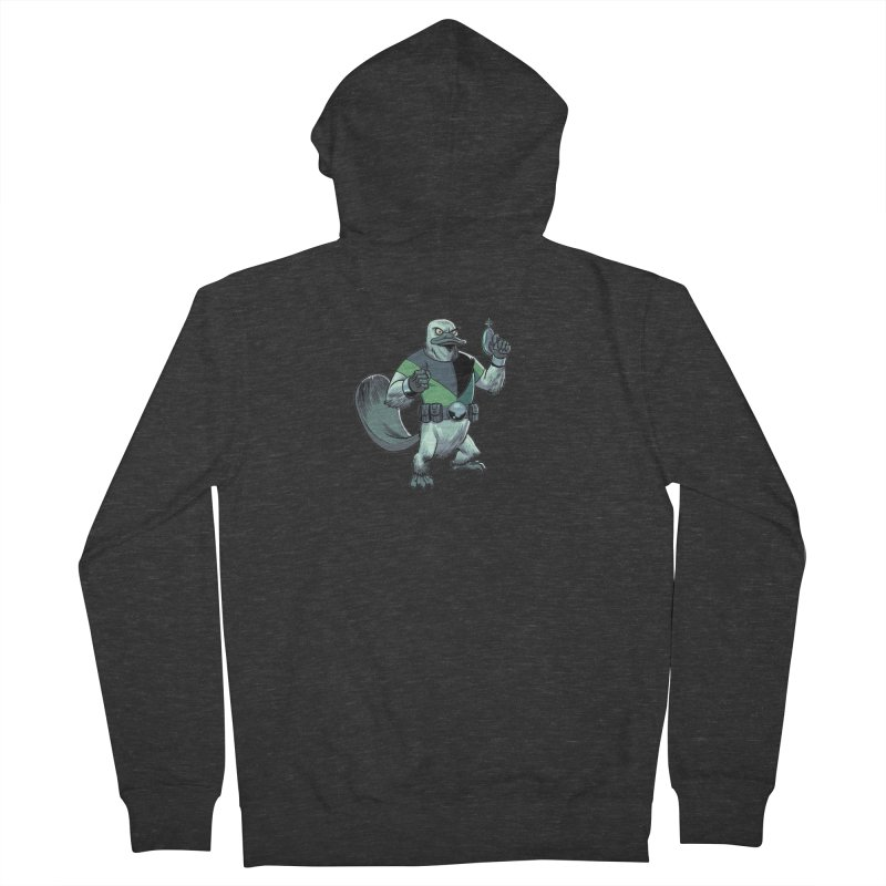 Shirt of the Month June 2017: Platypus Rex Men's French Terry Zip-Up Hoody by Edison Rex