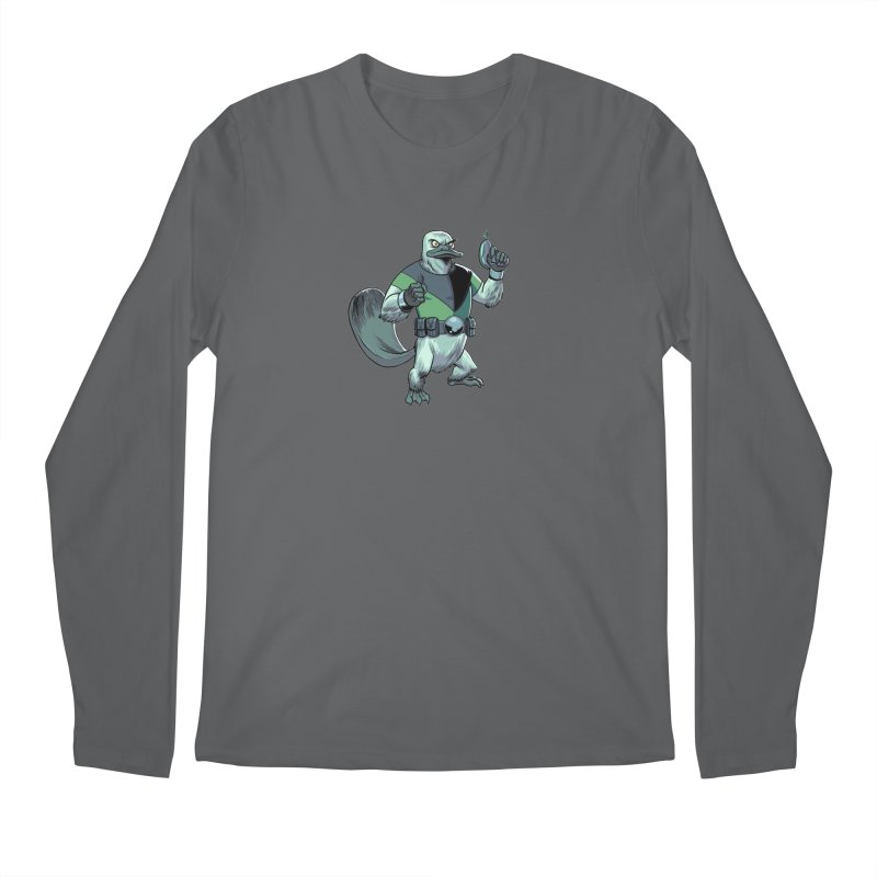 Shirt of the Month June 2017: Platypus Rex Men's Regular Longsleeve T-Shirt by edisonrex's Artist Shop