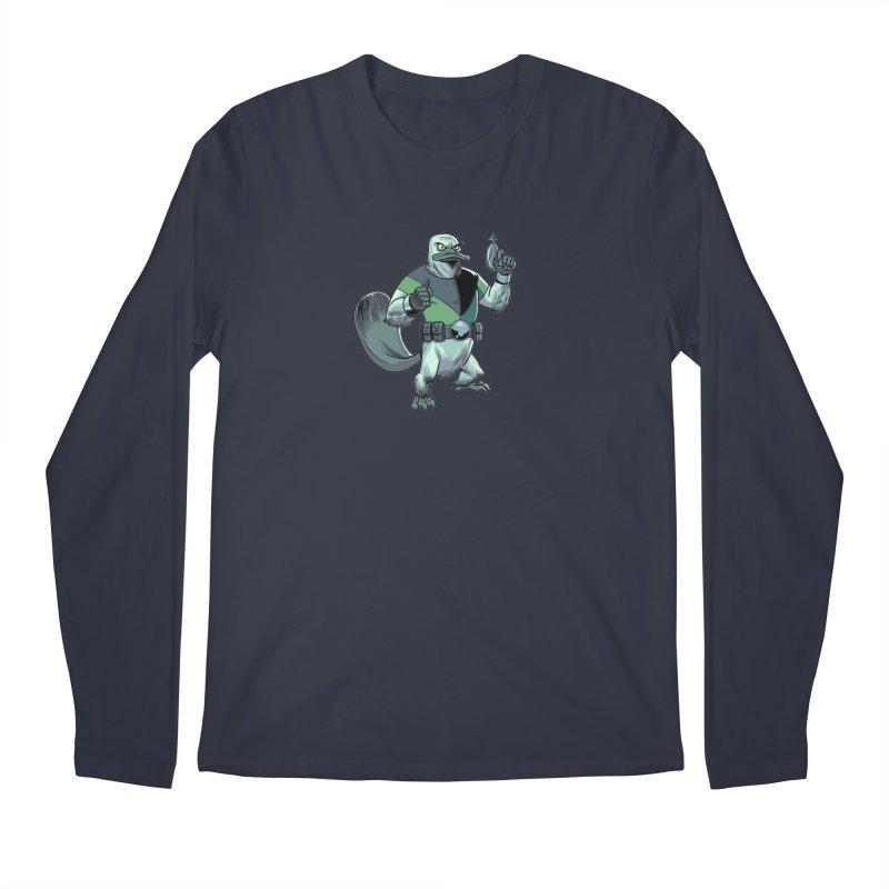 Shirt of the Month June 2017: Platypus Rex Men's Regular Longsleeve T-Shirt by edisonrex's Artist Shop
