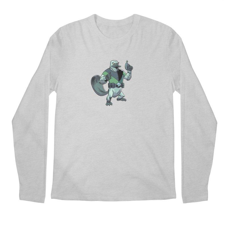 Shirt of the Month June 2017: Platypus Rex Men's Longsleeve T-Shirt by edisonrex's Artist Shop