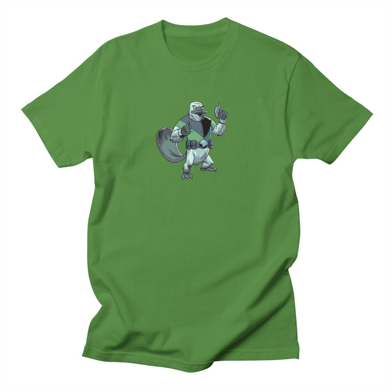 Shirt of the Month June 2017: Platypus Rex Men's  by edisonrex's Artist Shop