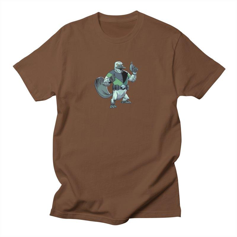 Shirt of the Month June 2017: Platypus Rex Women's  by edisonrex's Artist Shop