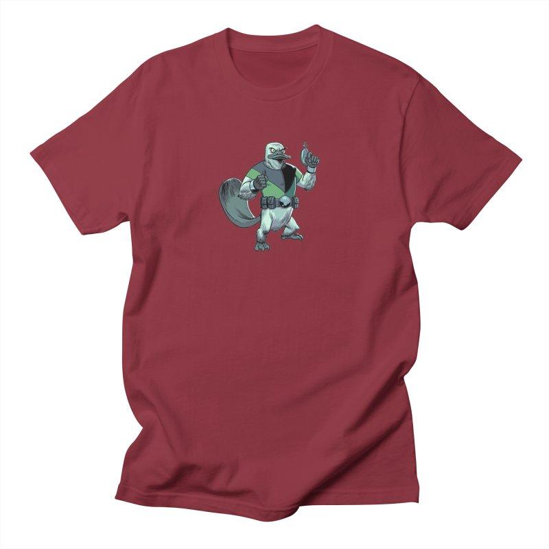 Shirt of the Month June 2017: Platypus Rex Men's T-shirt by edisonrex's Artist Shop
