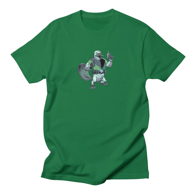 Shirt of the Month June 2017: Platypus Rex Men's Regular T-Shirt by edisonrex's Artist Shop