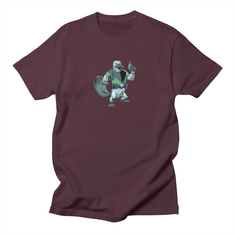 Shirt of the Month June 2017: Platypus Rex Women's Regular Unisex T-Shirt by edisonrex's Artist Shop