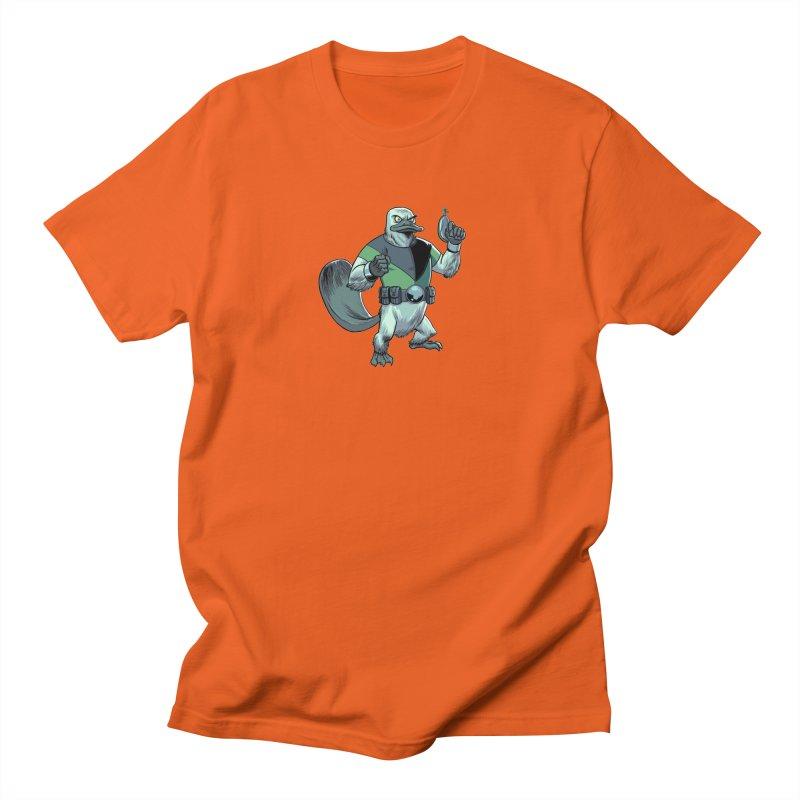 Shirt of the Month June 2017: Platypus Rex Women's Regular Unisex T-Shirt by edisonrex's Artist Shop