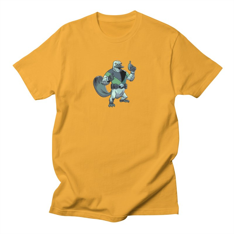 Shirt of the Month June 2017: Platypus Rex Men's T-Shirt by Edison Rex