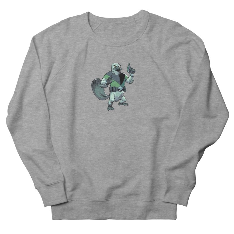 Shirt of the Month June 2017: Platypus Rex Women's French Terry Sweatshirt by edisonrex's Artist Shop