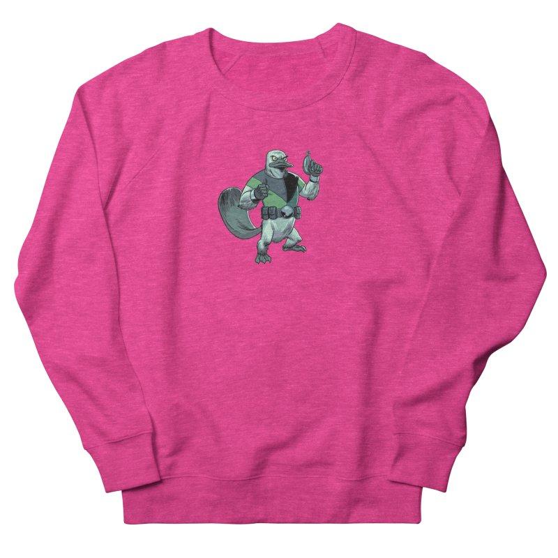 Shirt of the Month June 2017: Platypus Rex Women's French Terry Sweatshirt by edisonrex's Artist Shop