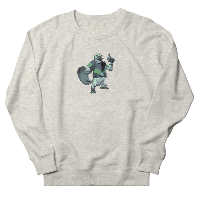 Shirt of the Month June 2017: Platypus Rex Women's French Terry Sweatshirt by Edison Rex