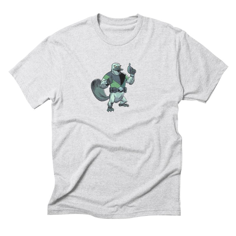 Shirt of the Month June 2017: Platypus Rex Men's Triblend T-Shirt by Edison Rex