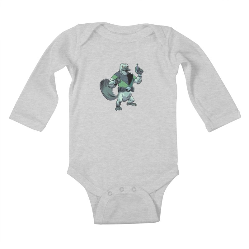 Shirt of the Month June 2017: Platypus Rex Kids Baby Longsleeve Bodysuit by Edison Rex