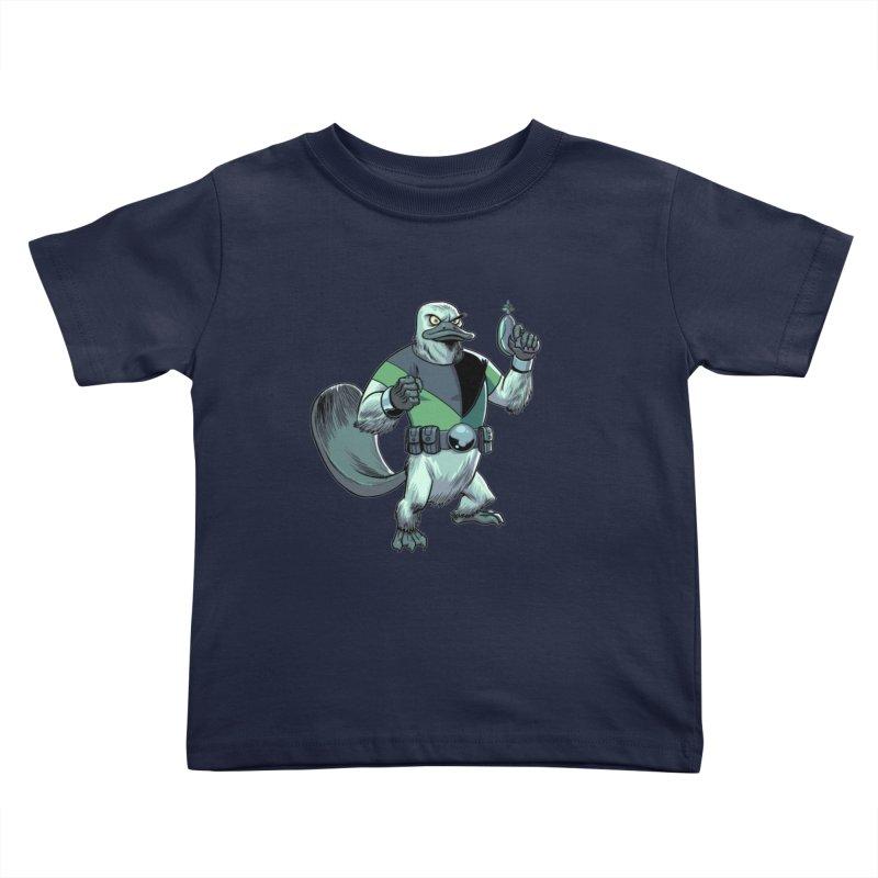Shirt of the Month June 2017: Platypus Rex Kids Toddler T-Shirt by edisonrex's Artist Shop