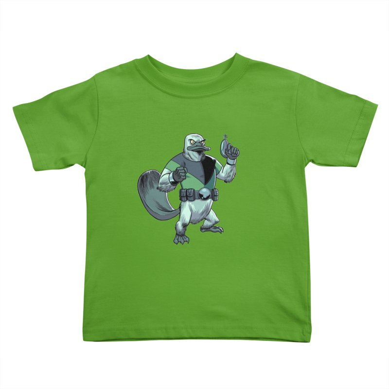 Shirt of the Month June 2017: Platypus Rex Kids Toddler T-Shirt by Edison Rex