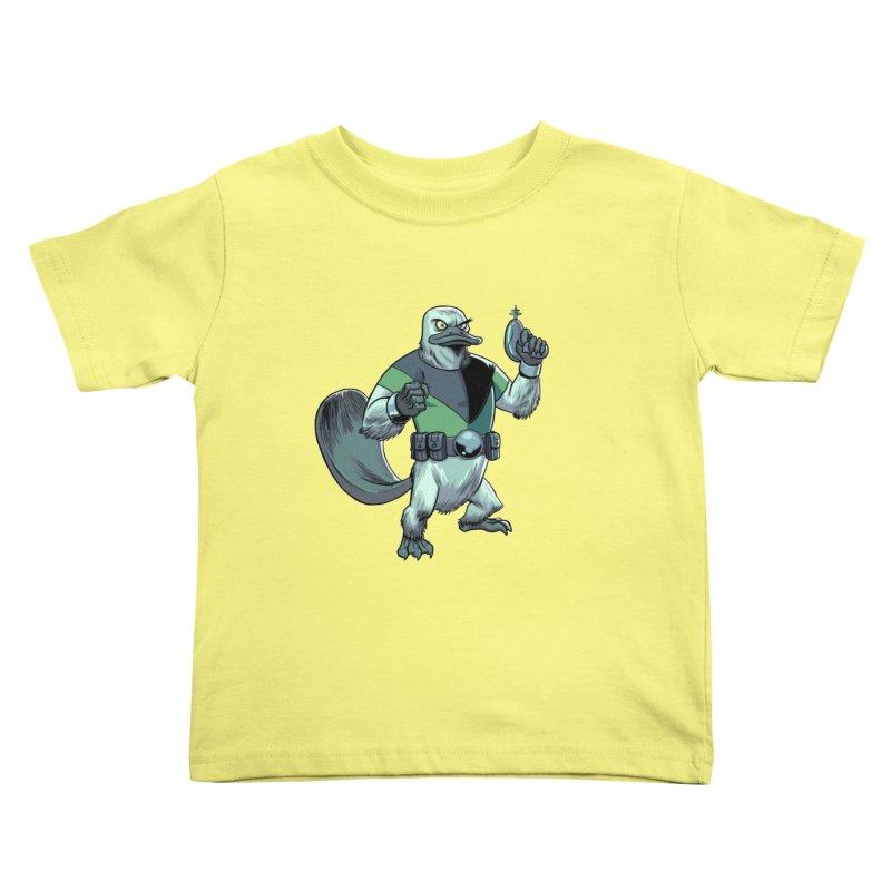 Shirt of the Month June 2017: Platypus Rex Kids Toddler T-Shirt by Edison Rex