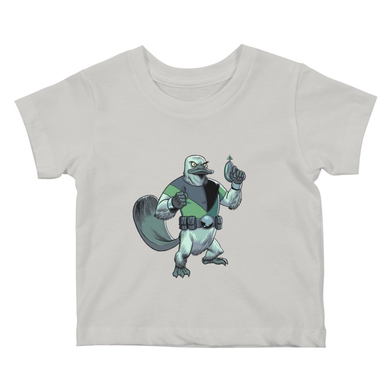 Shirt of the Month June 2017: Platypus Rex Kids Baby T-Shirt by edisonrex's Artist Shop