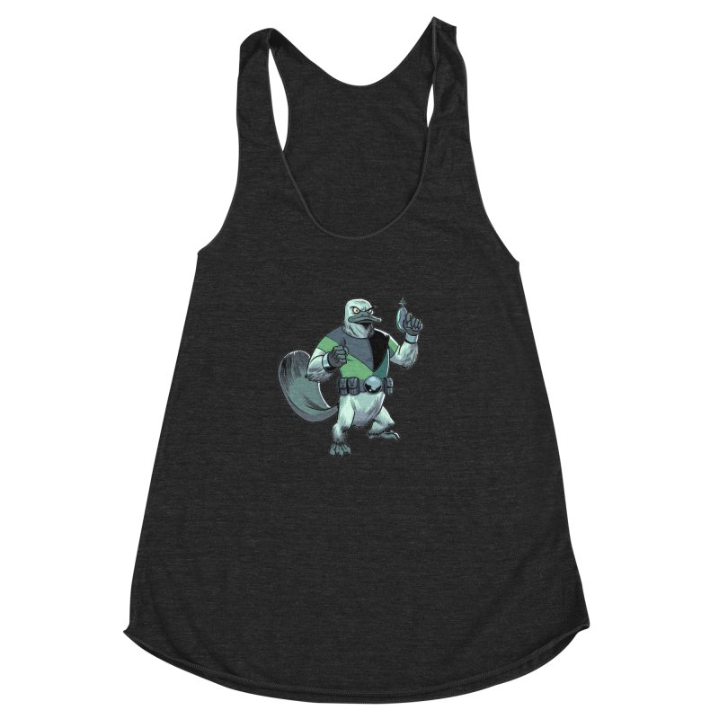 Shirt of the Month June 2017: Platypus Rex Women's Racerback Triblend Tank by Edison Rex