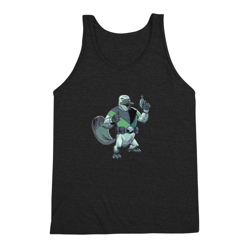 Shirt of the Month June 2017: Platypus Rex Men's Tank by Edison Rex