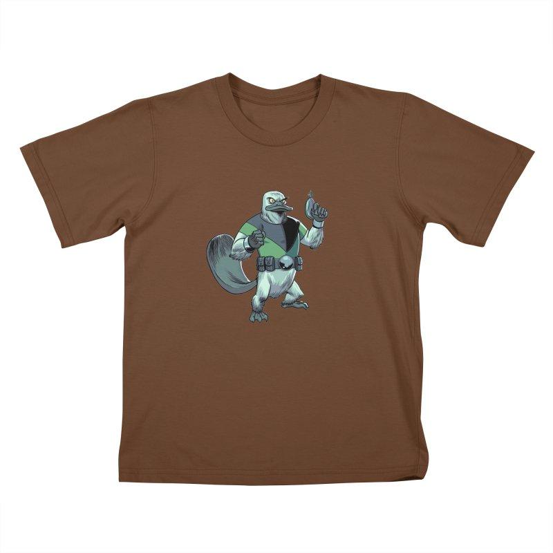 Shirt of the Month June 2017: Platypus Rex Kids T-shirt by edisonrex's Artist Shop