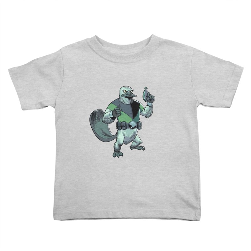 Shirt of the Month June 2017: Platypus Rex Kids Toddler T-Shirt by edisonrex's Artist Shop