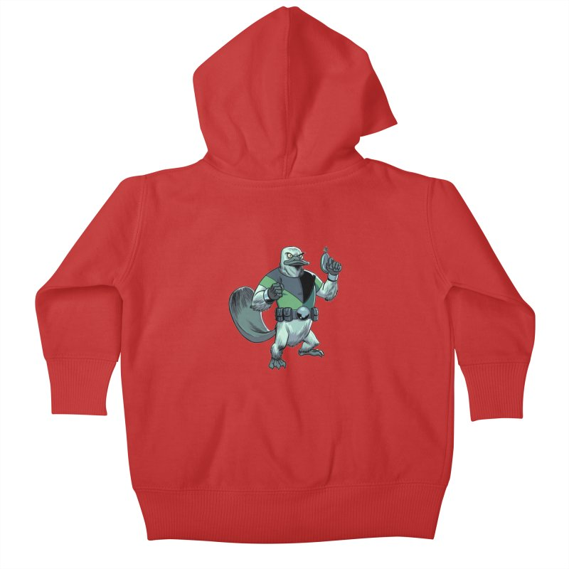 Shirt of the Month June 2017: Platypus Rex Kids Baby Zip-Up Hoody by Edison Rex