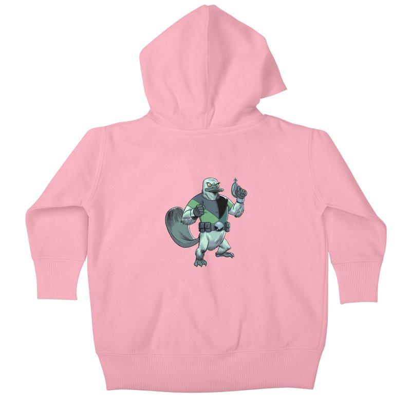 Shirt of the Month June 2017: Platypus Rex Kids Baby Zip-Up Hoody by Edison Rex