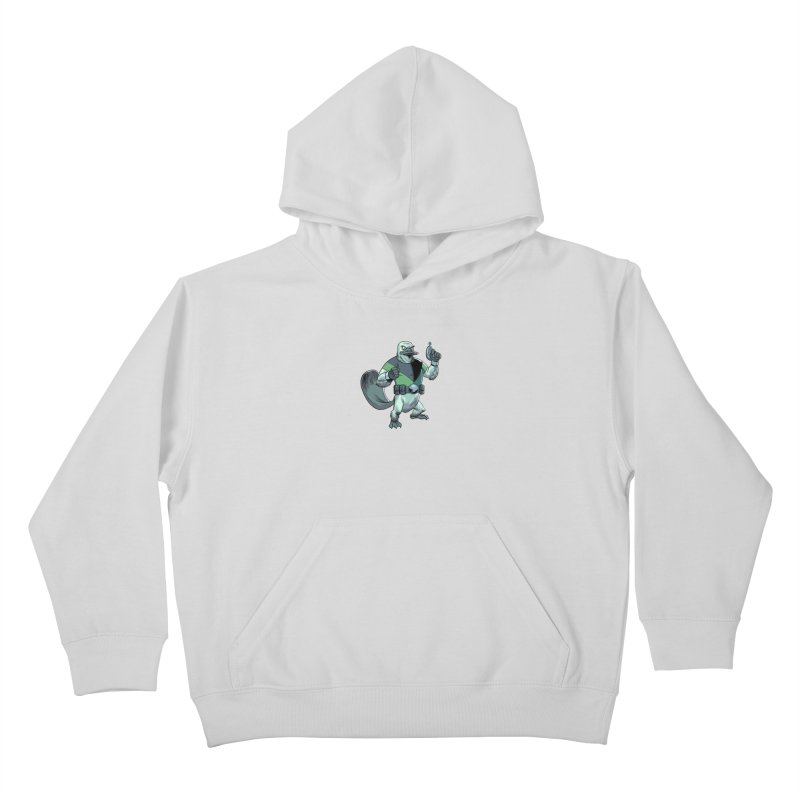 Shirt of the Month June 2017: Platypus Rex Kids Pullover Hoody by Edison Rex