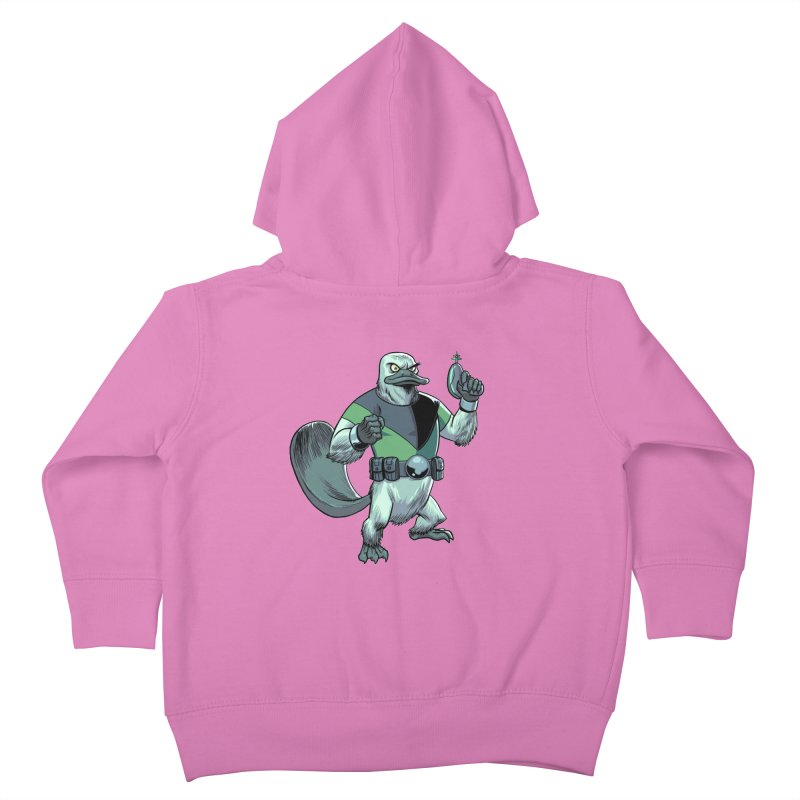 Shirt of the Month June 2017: Platypus Rex Kids Toddler Zip-Up Hoody by Edison Rex