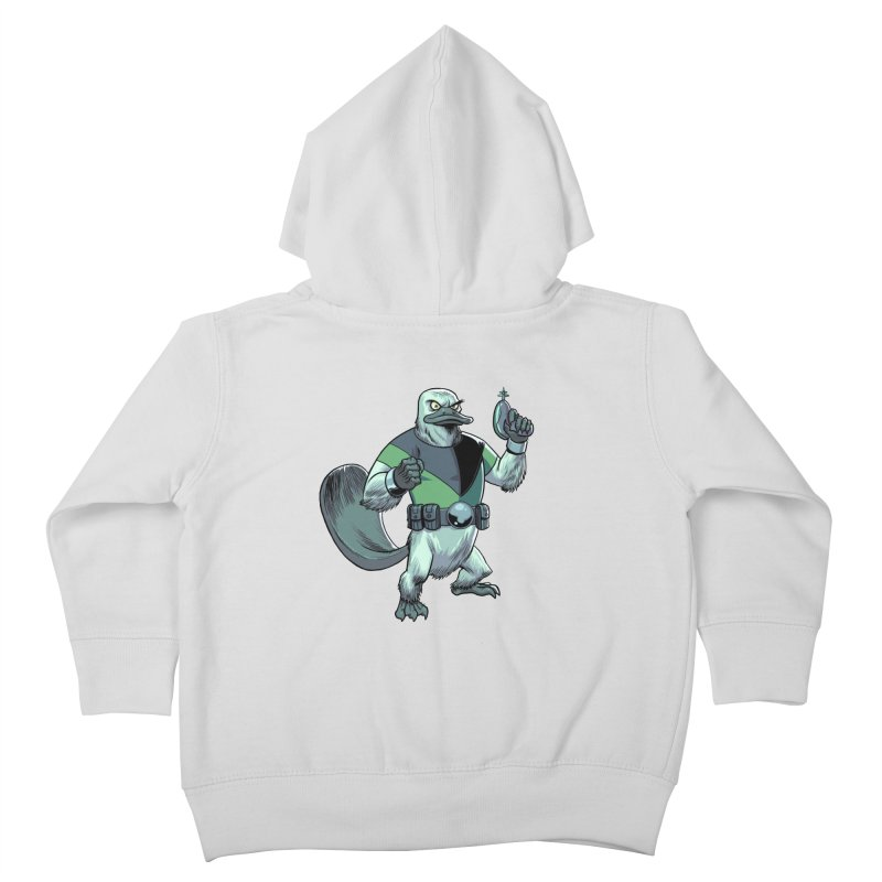 Shirt of the Month June 2017: Platypus Rex Kids Toddler Zip-Up Hoody by edisonrex's Artist Shop