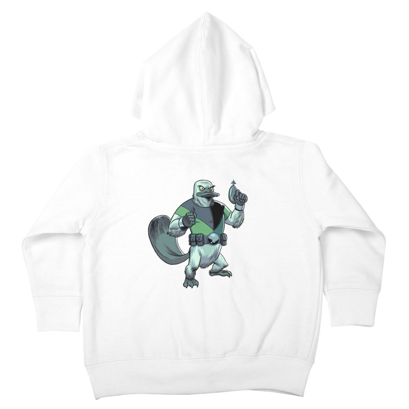 Shirt of the Month June 2017: Platypus Rex Kids Toddler Zip-Up Hoody by Edison Rex
