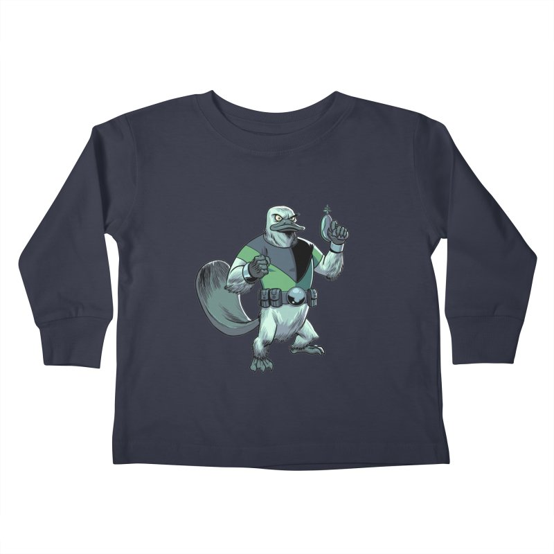 Shirt of the Month June 2017: Platypus Rex Kids Toddler Longsleeve T-Shirt by edisonrex's Artist Shop