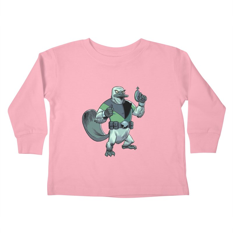 Shirt of the Month June 2017: Platypus Rex Kids Toddler Longsleeve T-Shirt by Edison Rex