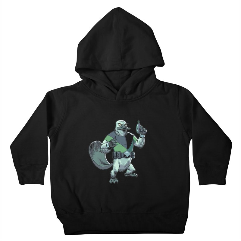 Shirt of the Month June 2017: Platypus Rex Kids Toddler Pullover Hoody by edisonrex's Artist Shop