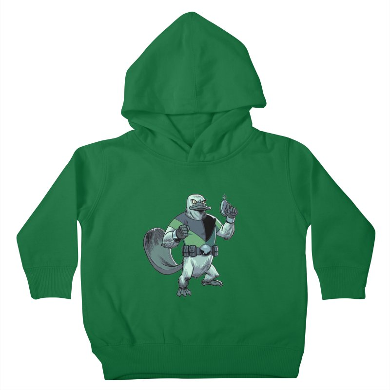 Shirt of the Month June 2017: Platypus Rex Kids Toddler Pullover Hoody by edisonrex's Artist Shop