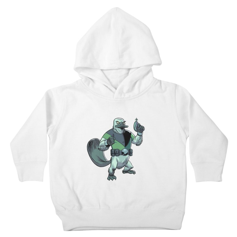 Shirt of the Month June 2017: Platypus Rex Kids Toddler Pullover Hoody by Edison Rex