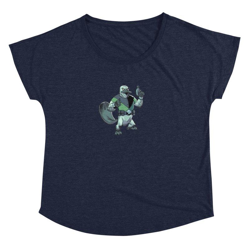 Shirt of the Month June 2017: Platypus Rex Women's Dolman Scoop Neck by Edison Rex