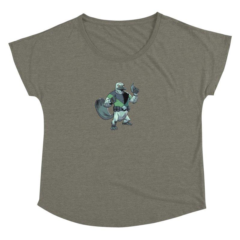 Shirt of the Month June 2017: Platypus Rex Women's Dolman by edisonrex's Artist Shop