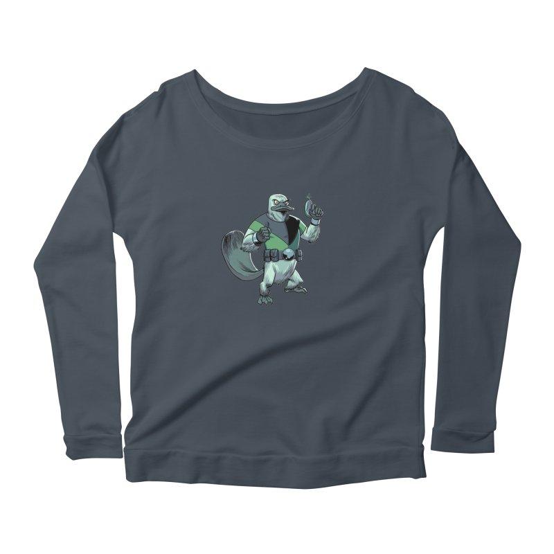 Shirt of the Month June 2017: Platypus Rex Women's Scoop Neck Longsleeve T-Shirt by Edison Rex