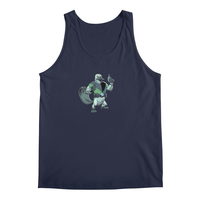 Shirt of the Month June 2017: Platypus Rex Men's Regular Tank by Edison Rex