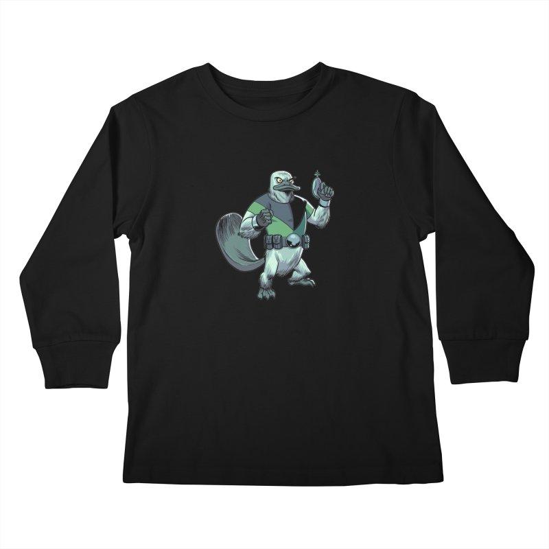Shirt of the Month June 2017: Platypus Rex Kids Longsleeve T-Shirt by Edison Rex