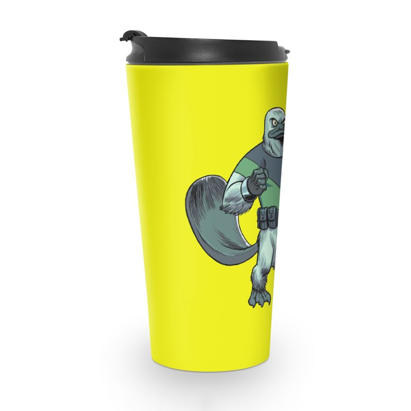 Shirt of the Month June 2017: Platypus Rex Accessories Travel Mug by Edison Rex