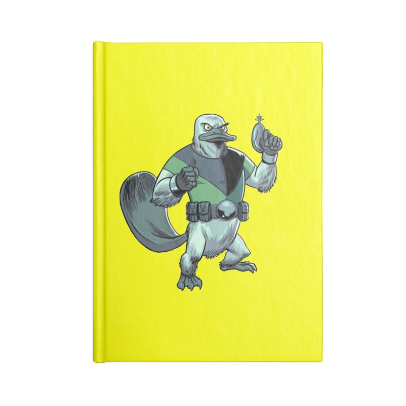 Shirt of the Month June 2017: Platypus Rex Accessories Blank Journal Notebook by Edison Rex