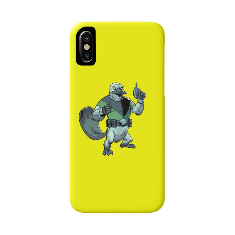 Shirt of the Month June 2017: Platypus Rex Accessories Phone Case by Edison Rex