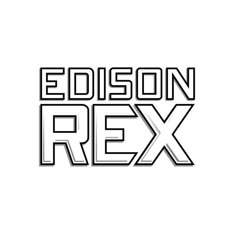 Edison Rex logo Men's T-Shirt by Edison Rex