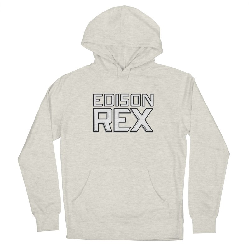 Edison Rex logo Women's French Terry Pullover Hoody by edisonrex's Artist Shop