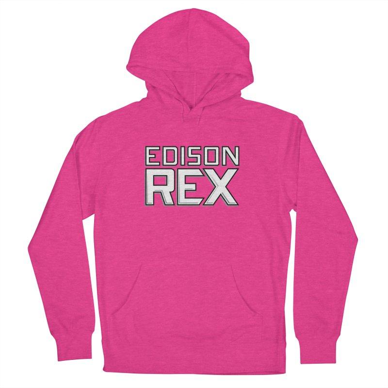 Edison Rex logo Women's French Terry Pullover Hoody by edisonrex's Artist Shop