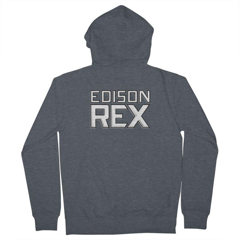 Edison Rex logo Women's French Terry Zip-Up Hoody by Edison Rex