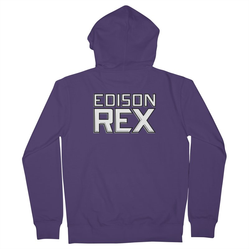 Edison Rex logo Women's French Terry Zip-Up Hoody by edisonrex's Artist Shop